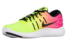 NIKE MEN LUNARSTELOS OC RUNNING SHOES VOLT TO PINK FADE SIZE 12 NEW 844738-999