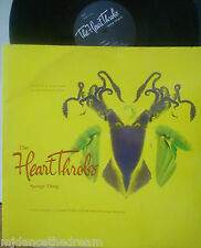 "THE HEART THROBS ~ Spongy Thing EP ~ 12"" Single PS"