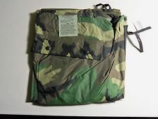 ORC Industries Woodland Camo, Military Surplus Rain Pants, Small, Brand New