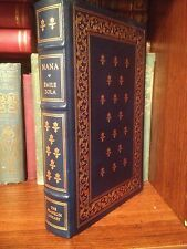 Franklin Library Full Leather Nana by Emile Zola 100 Greatest Books Gilt Rare