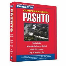PIMSLEUR Learn to Speak PASHTO Language 8 CDs NEW!!