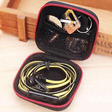 1x Waterproof EDC Hard Case Box Headset Earphone Earbud Storage Pouch Bag Empty