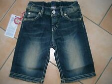 (201) Nolita Pocket Girls used look Jeans Bermuda Hose asymetri. Taschen gr.104