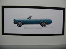 1967 Ford Mustang GT Convertible   From  50 Year Anniversary Exhibit  artist