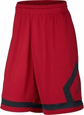 Nike Jordan Flight Diamond Men's Basketball Shorts Red - Black  SMALL SM $45