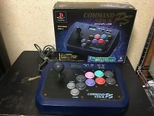 Command Stick PS PlayStation Japan Hori Arcade Joystick controller