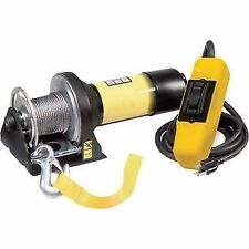 WINCH - 110V AC Powered -1,500 Lb Cap -  35 Ft Cable