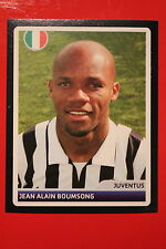 PANINI CHAMPIONS LEAGUE 2006/07 # 366 JUVENTUS BOUMSONG  BLACK BACK MINT!
