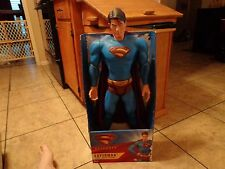 "2006 MATTEL--SUPERMAN RETURNS MOVIE--30"" SUPERMAN FIGURE (NEW)"