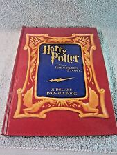 Harry Potter and the Sorcerer's Stone Deluxe Pop-Up Book, 2001 1st Printing