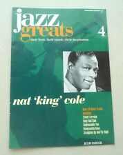 NAT KING COLE  JAZZ GREATS THEIR LIVES THEIR MUSIC THEIR INSPIRATION