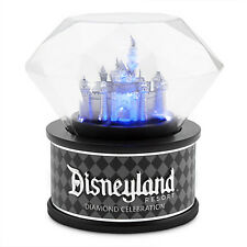 Disneyland Diamond Celebration 60th Sleeping Beauty Castle Light-Up Disney Globe