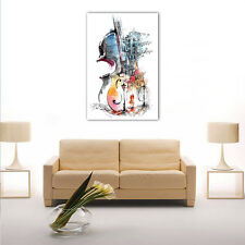 HD Canvas Print Framed Canvas Picture Wall Art Painting Abstract Violin