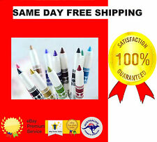 12 COLOURS GLITTER LIP LINER EYE SHADOW EYELINER PENCIL PEN COSMETIC MAKEUP SETS
