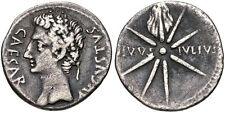 Augustus. 27 BC-AD 14. AR Denarius (19mm, 3.61 g, 5h). Uncertain Spanish mint