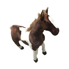 65cm STANDING STUFFED PLUSH HORSE SOFT AND CUDDLY STUFFED ANIMAL