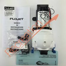 Flojet RV Marine 12 Volt Water Pump 2.9 G.P.M. w/ Built In Pressure Switch