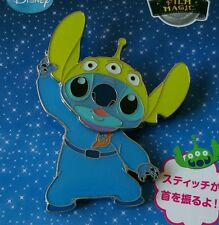 Japan Tokyo Disney - Film Magic Toy Story Alien LGM Costume Stitch Bobble Pin