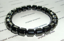 Feng Shui - 8mm Barrel Magnetic Hematite Bracelet