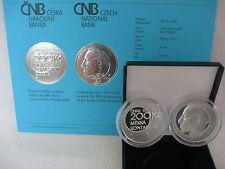 República Checa 2013 200 coronas de plata pp proof-Otto Wichterle-lente de contacto