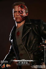 Hot Toys TERMINATOR Battle Damaged 1/6 scale figure MMS238~Schwarzenegger~NIB
