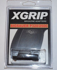 (2) X-Grips Use Sig Sauer P320 Full-Size Magazine in 320/P250C Compact 9mm/40