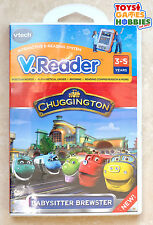 Vtech VReader CHUGGINGTON Animated Learning Book Game Cartridge - NEW
