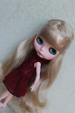 """Takara 12"""" Neo Blythe Doll from Factory Nude doll Curly flaxen hair SD31 +stand"""
