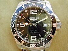 c.2014 LONGINES HYDROCONQUEST GENTLEMAN'S AUTOMATIC DIVERS REF. L3.642.4.