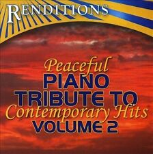 Piano Tribute Players Renditions: Peaceful Trib to Contemporar CD
