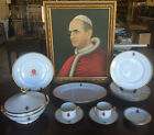 Richard Ginori China Set Created for Pope Paul VI for Special Exhibits & Picture
