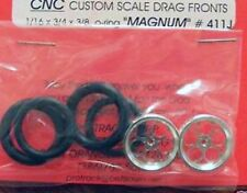 Pro-Track CNC Magnum Front Drag tires in Chrome