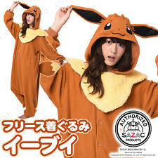 EEVEE Kigurumi BROWN SAZAC JAPAN Halloween Costume ONESIES POKEMON GO