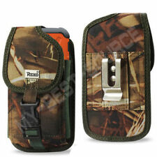 Heavy Duty Pouch/Holster Cover Belt Clip FOR Aluminum Gorilla Glass Case On