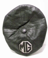 Vintage MG Motor British UK Sport Car Leather Driving Cap by Euro Mod UK Sz 58