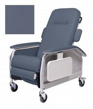 LUMEX FR577RG427  Medical Clinical Patient Recliner WITH SIDE TABLE