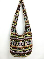 WOW! SHOULDER BAG SLING HIPPIE CROSS BODY YAAM  BOHO THAI HOBO BOHEMIAN BEACH