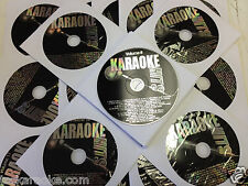 27 KARAOKE HITS CDG Disc Set 500 SGS ROCK COUNTRY OLDIES R&B SOUL Free Song Book