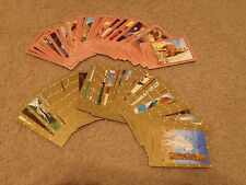 Bella Sara lot of 80+ cards 2nd series complete 1-58 commons and Ancient Lights