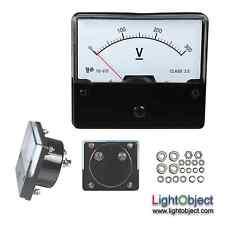 DC 0-300V Analog Panel Volt Meter