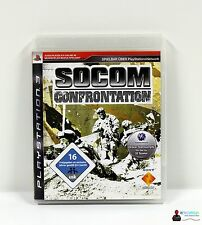 ★ Playstation PS3 Spiel - SOCOM CONFRONTATION - Komplett in Hülle OVP ★