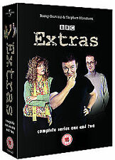 Extras Series 1-2 DVD Box Set Collection BBC TV Christmas Specials New Sealed UK