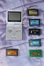 NINTENDO gameboy advance& 6 games &charger Bundle NO BOX