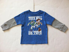 NWOT Junk Food Toy Story top size 18-24months Blue Baby Boy