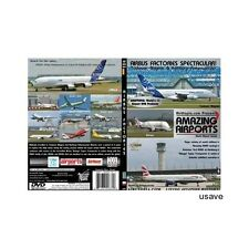 Airbus Factory Toulouse and Hamburg Aircraft Aviation Airline DVD Video-New