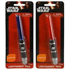 Disney Star Wars Ep 7 Light Up Lightsaber Pen