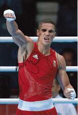Anthony Ogogo Hand Signed 12x8 Photo London Olympics 2012 Bronze Medalist 5.