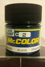 Gunze Sangyo Mr. Color acrylic paint,  C2 Gloss Black 10ml