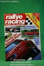 Rallye Racing 1/89 Corvette ZR 1 Volvo 480 Turbo BMW M3