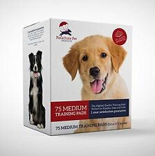 Dog Training Pads Medium 75-Pack By Parachute Pet Products